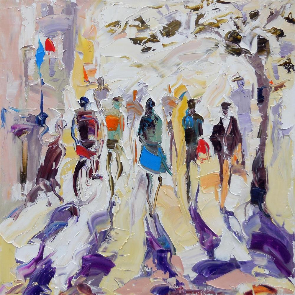 """Insolation"" original fine art by Elena Lunetskaya"
