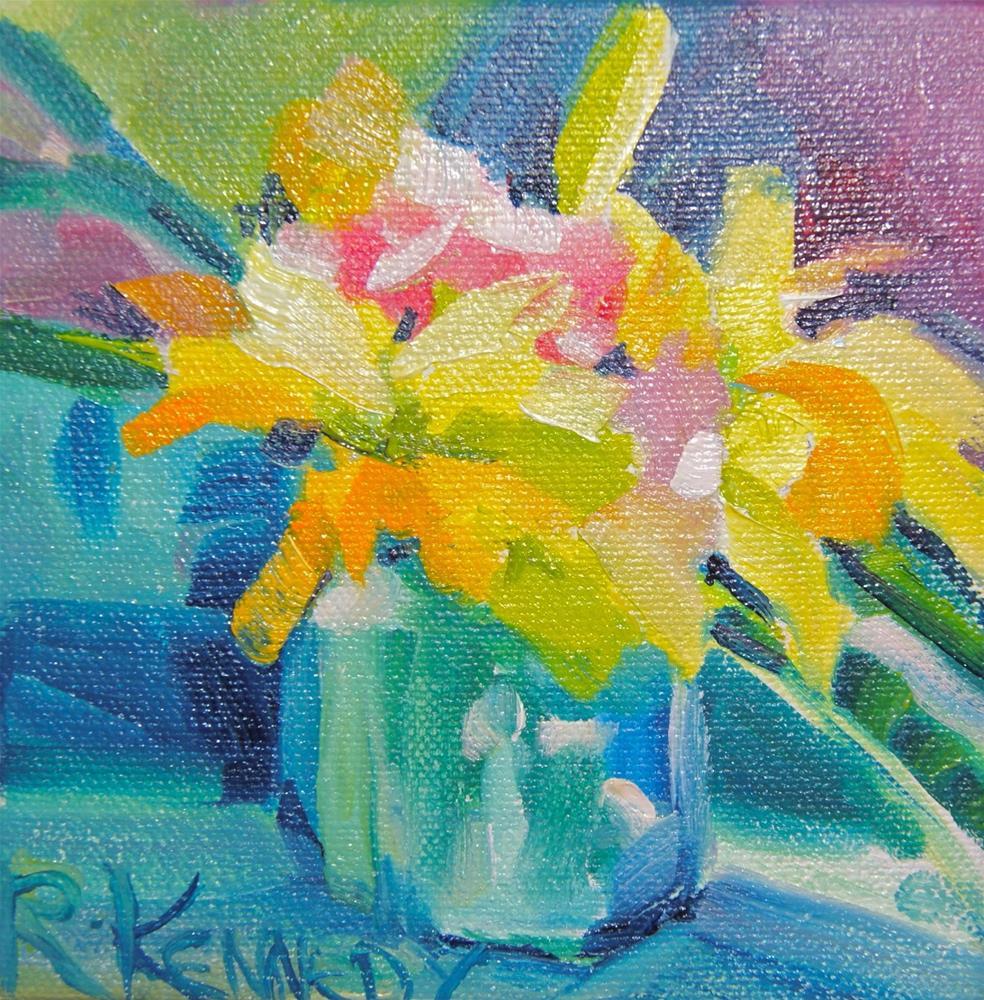 """Golden Opportunity"" original fine art by Reveille Kennedy"