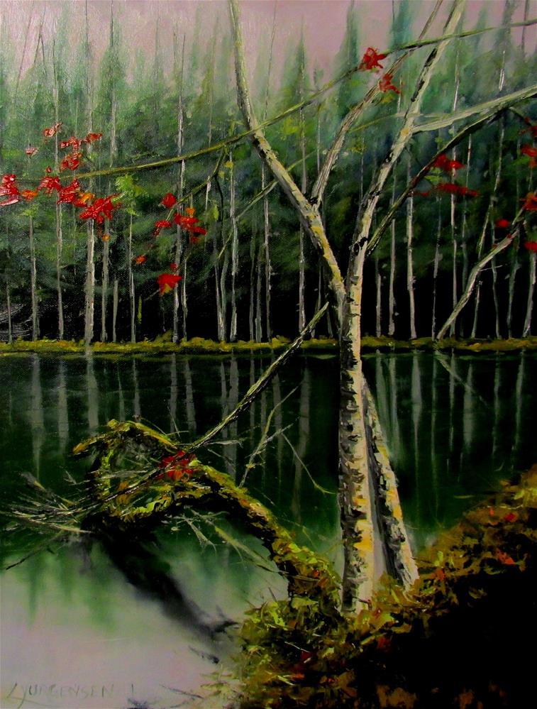 """24 x 18 inch oil"" original fine art by Linda Yurgensen"