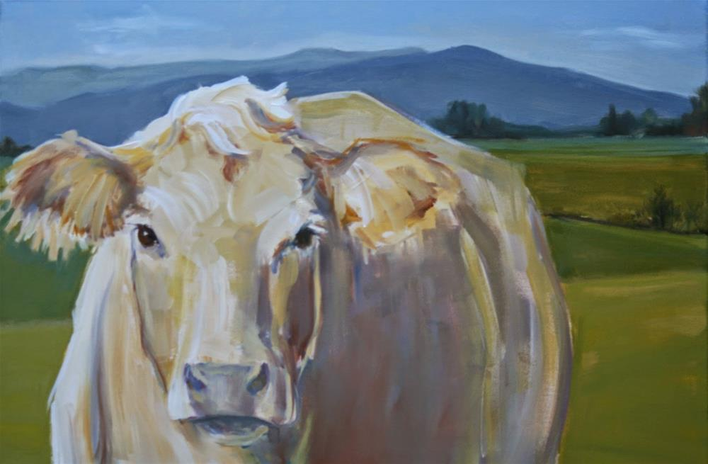"""up close"" original fine art by Carol Carmichael"