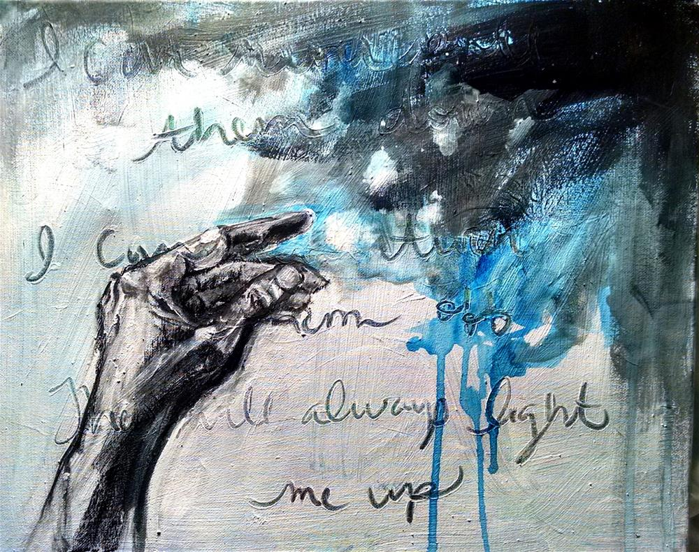 """""""Something 'bout Stars"""" original fine art by Heather Smith"""