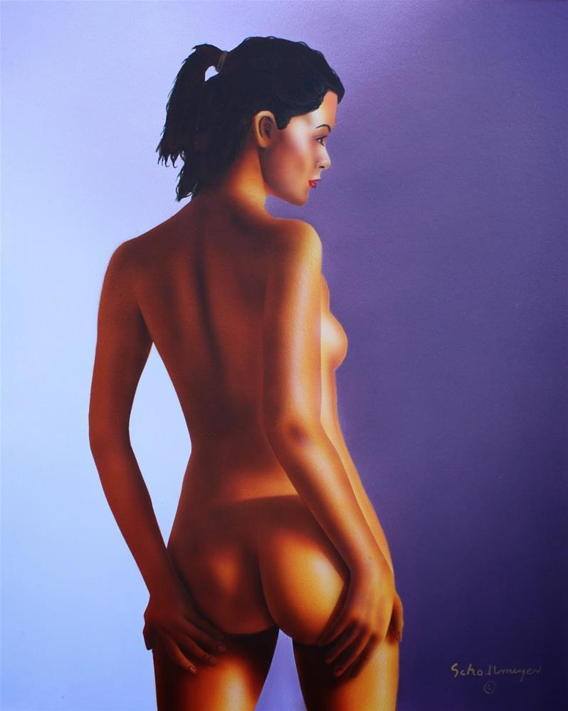 """Nude With Morning Light"" original fine art by Fred Schollmeyer"