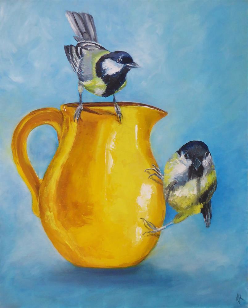 """""""A little bit of sunshine"""" original fine art by Karen Robinson"""