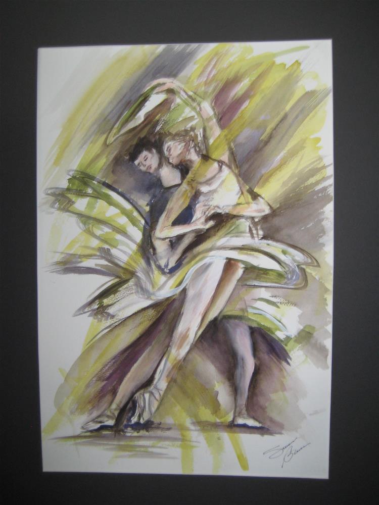 """LeBallet"" original fine art by Susan Brens"