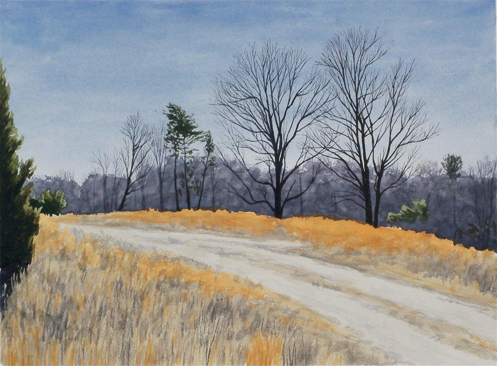 """""""Axton Field"""" original fine art by Greg Arens"""