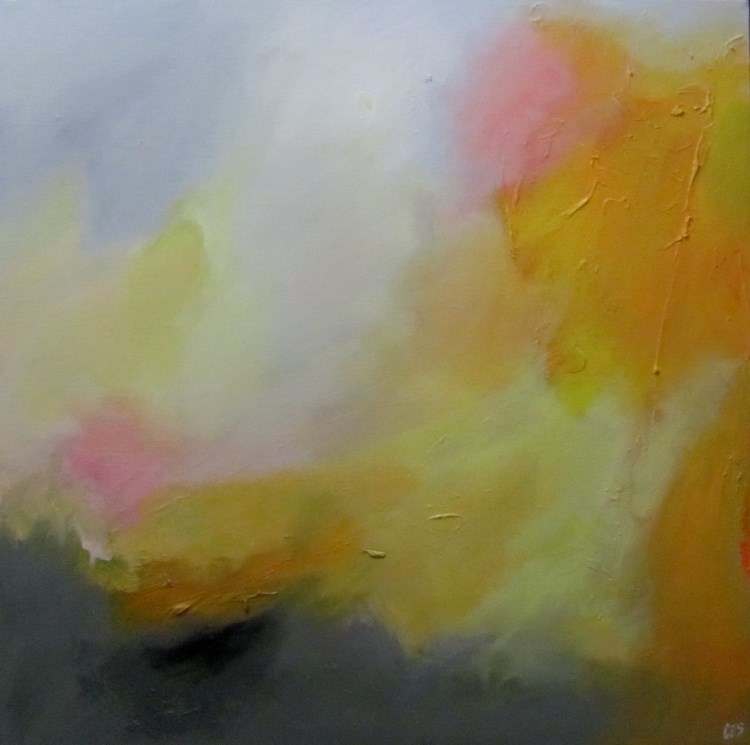 """The Day Was Yellow"" original fine art by ~ces~ Christine E. S. Code"
