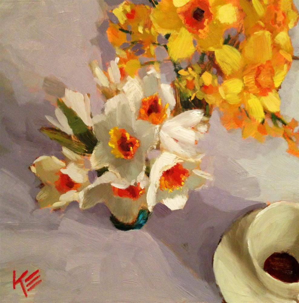 """Sunshine Gathering"" original fine art by Krista Eaton"
