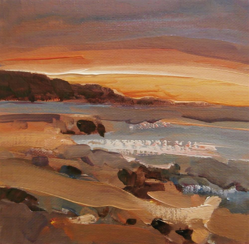 """After Sunset"" original fine art by Anne Wood"