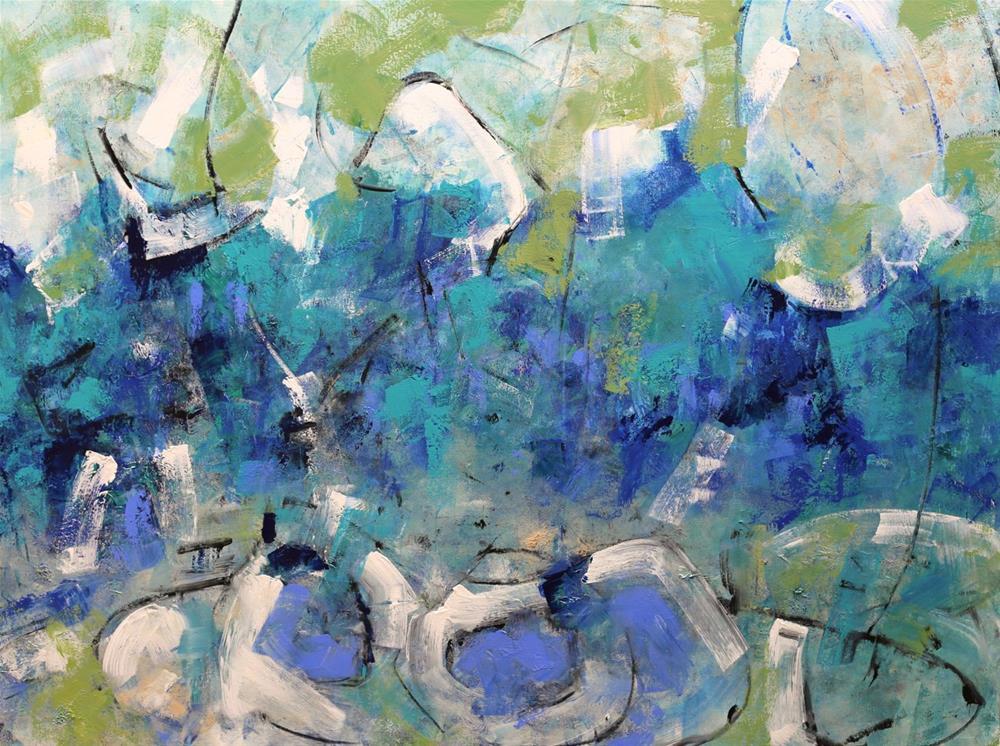 """Fruition"" original fine art by Elizabeth Chapman"