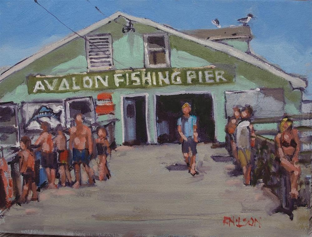 """A shot of Avalon"" original fine art by Rick Nilson"