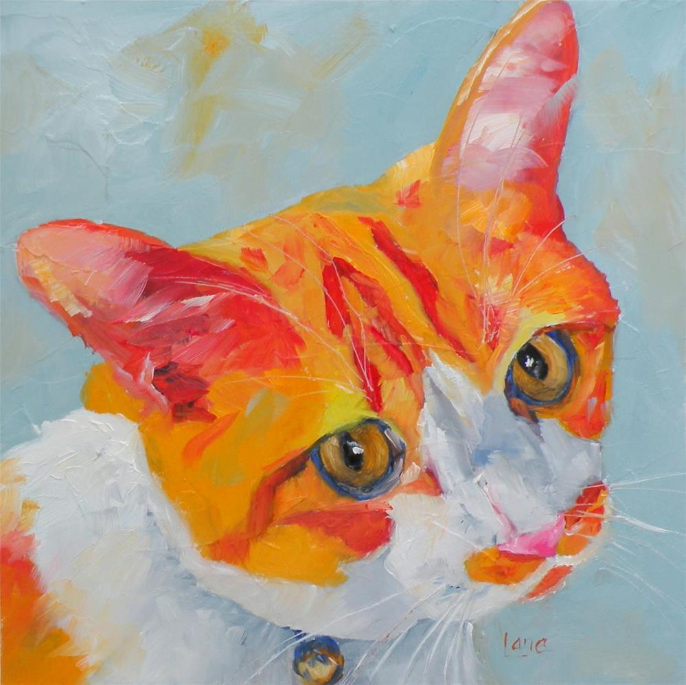 """CHICHI 67/101 OF 101 PET PORTRAITS IN 101 DAYS © SAUNDRA LANE GALLOWAY"" original fine art by Saundra Lane Galloway"