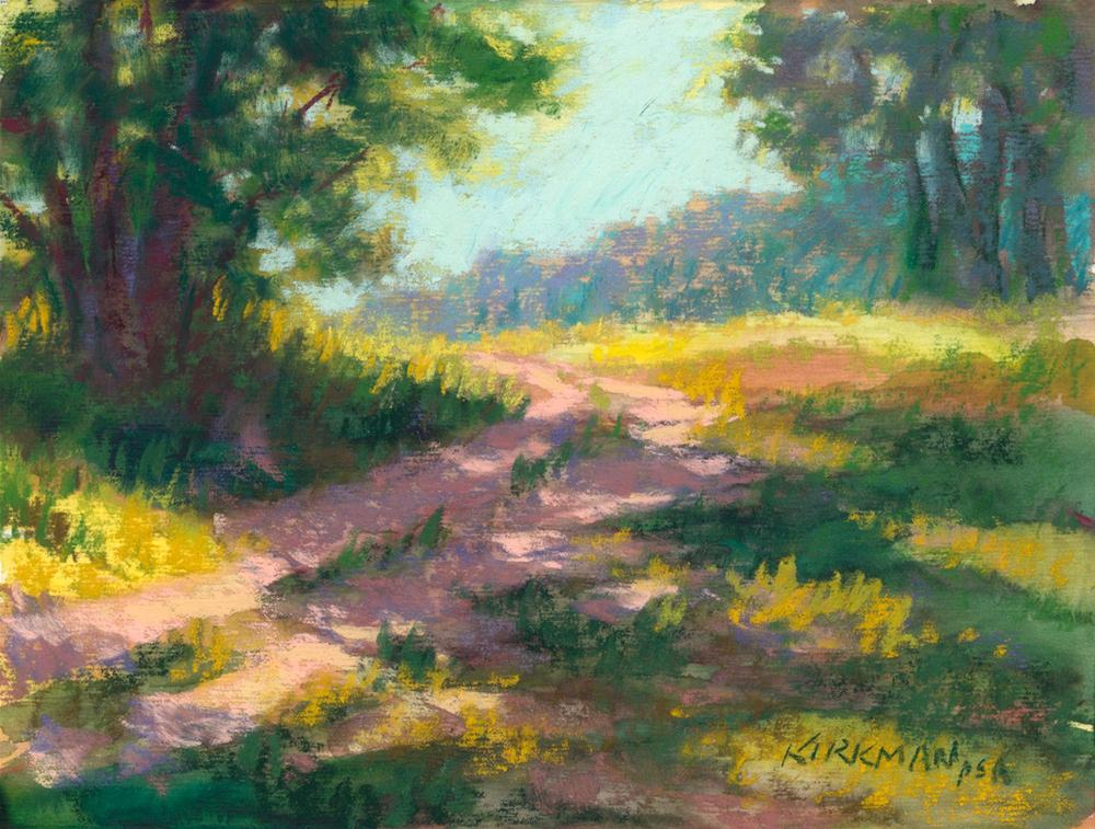 """Park Trail #26"" original fine art by Rita Kirkman"