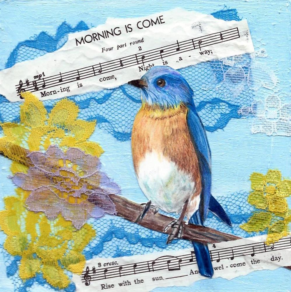 """""""Morning Is Come"""" original fine art by Lisa Wiertel"""