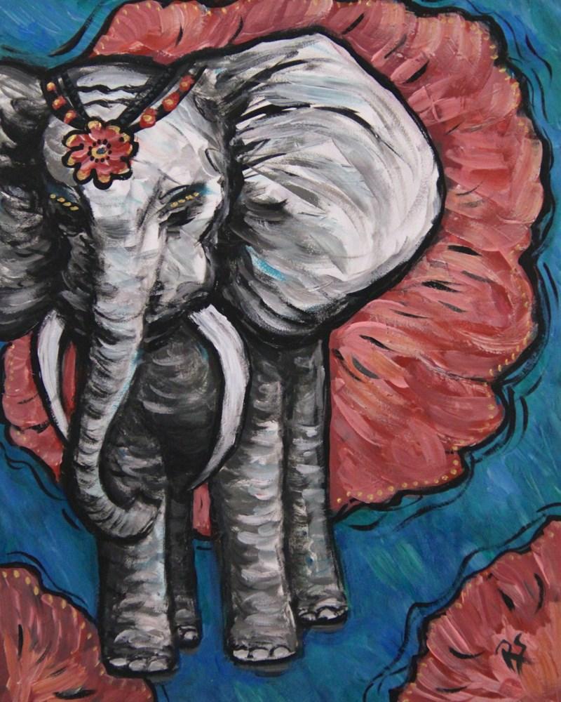 """Ella"" original fine art by Roberta Schmidt"