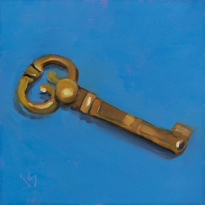 """The Key - Day 4"" original fine art by Johnna Schelling"