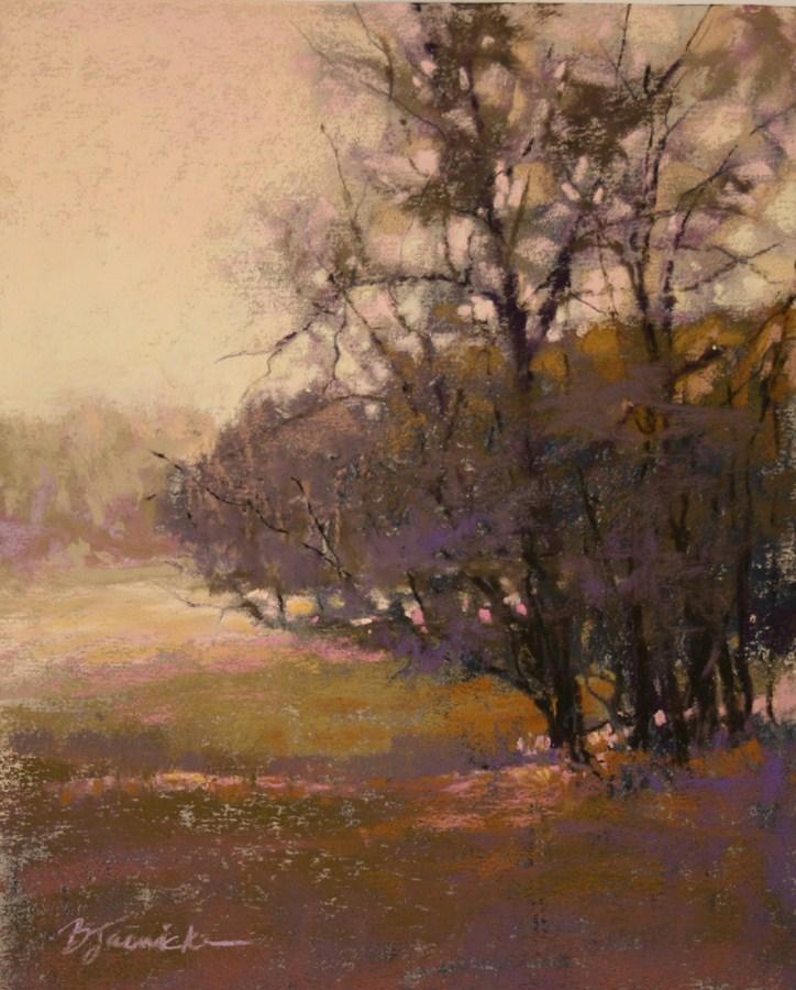 """Hazy Morning"" original fine art by Barbara Jaenicke"