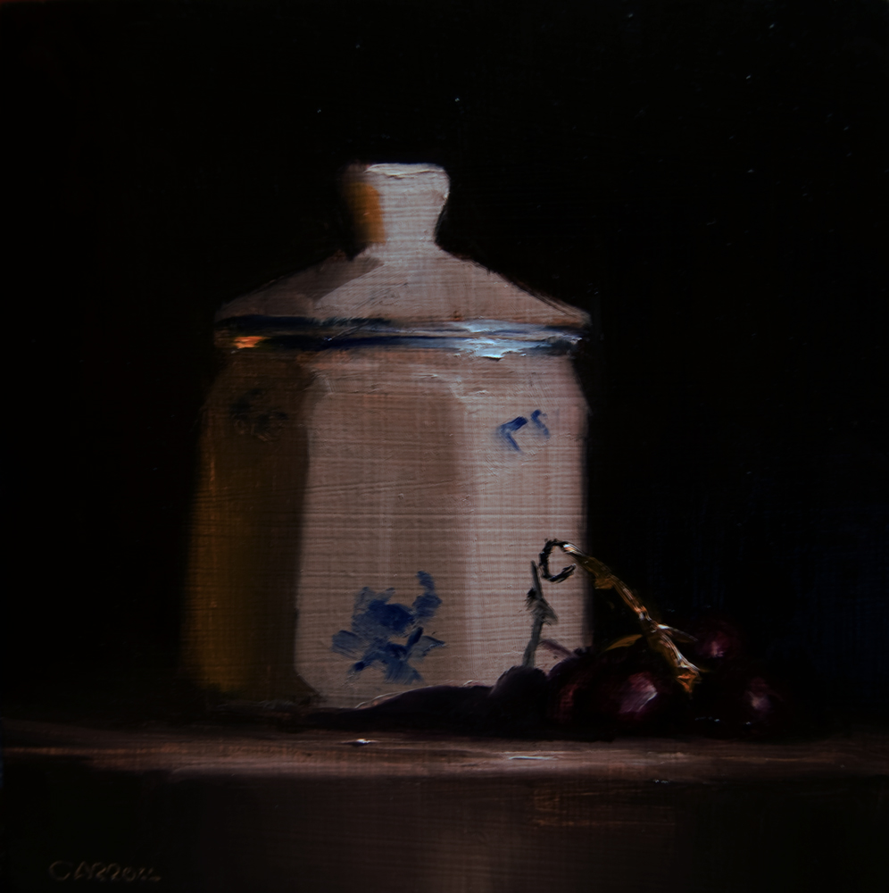"""Small Jar"" original fine art by Neil Carroll"