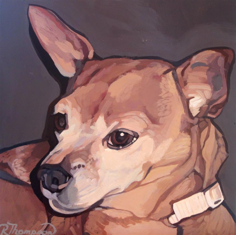"""Bebe"" original fine art by Rachel Thompson"