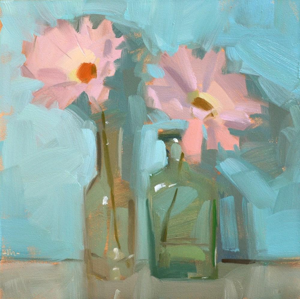 """""""Bottle Buddies"""" original fine art by Carol Marine"""