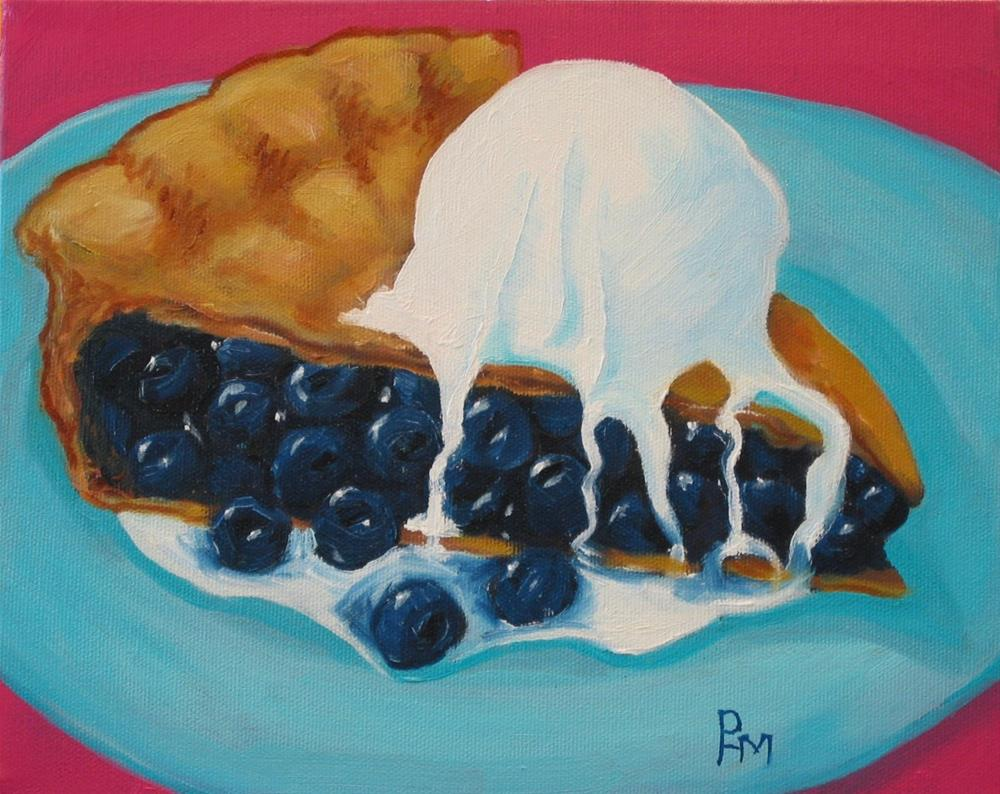"""Oh My, Another Pie!"" original fine art by Patricia Murray"