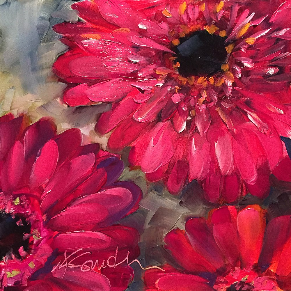 """joy"" original fine art by Kim Smith"
