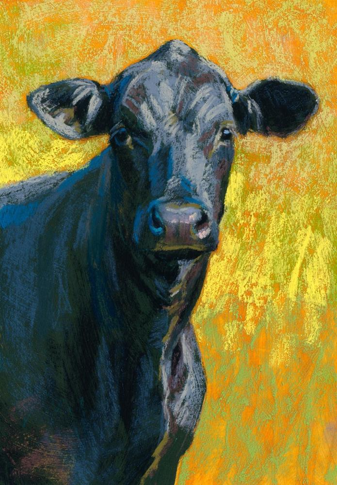 """Sir Loin"" original fine art by Rita Kirkman"