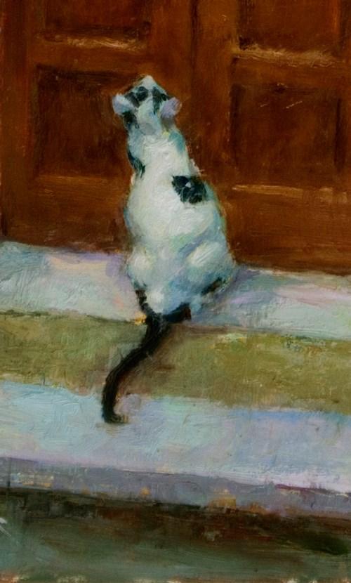 """""""Detail - Ouvrez La Porte"""" original fine art by Julie Snyder"""