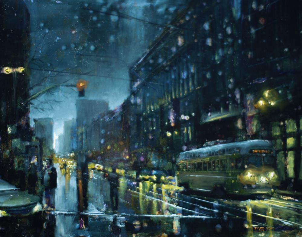 """SF No. 7"" original fine art by Dimitriy Gritsenko"