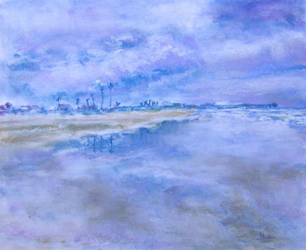 """""""Oceanside Clouds"""" original fine art by Niki Hilsabeck"""