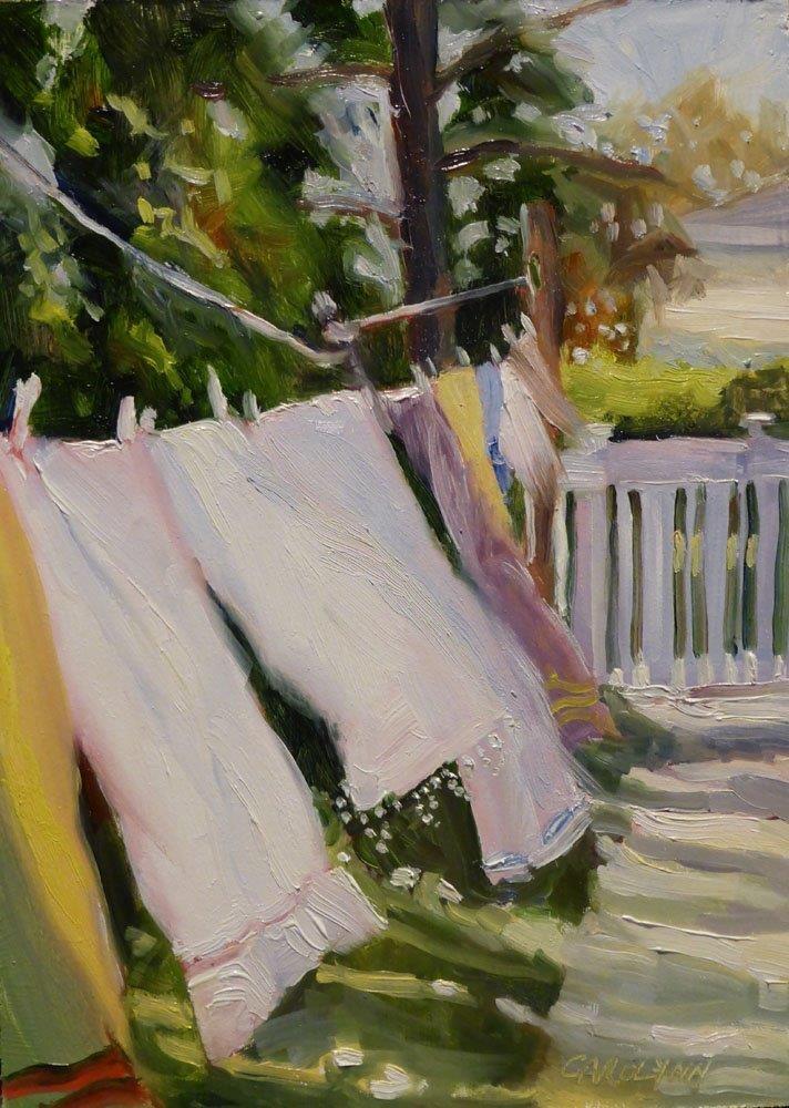 """""""Seizing The Day"""" original fine art by Carolynn Doan"""