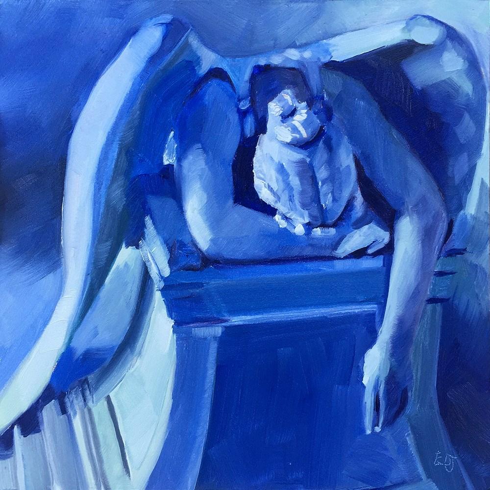 """""""Weeping Angel 1"""" original fine art by Elizabeth Dawn Johnston"""