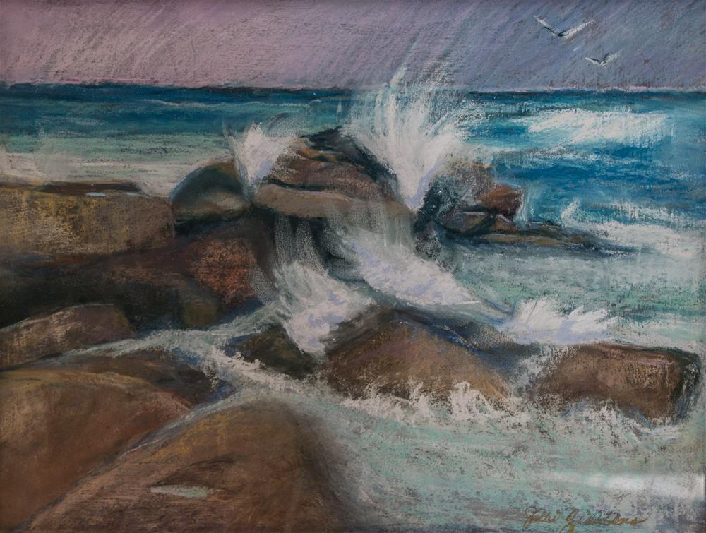 """Mermaid Haven"" original fine art by Jeri Giddens"