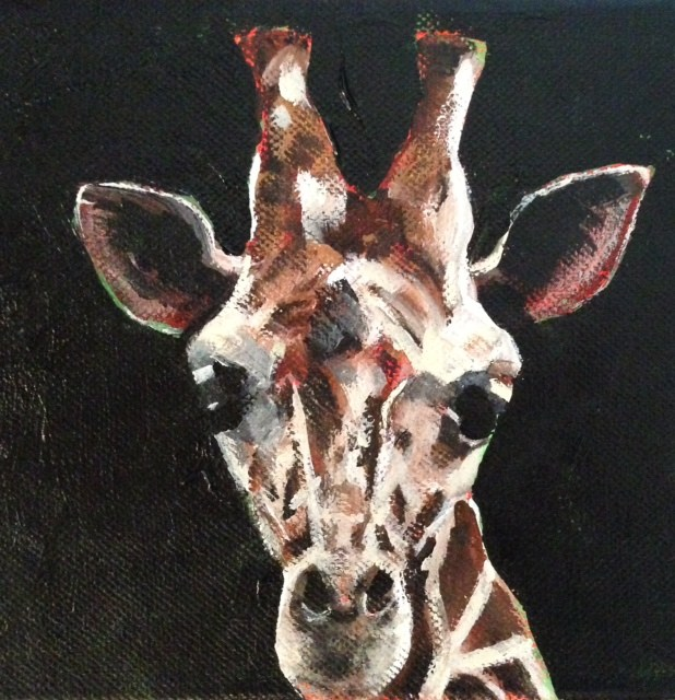 """Melvin"" original fine art by Molly Wright"