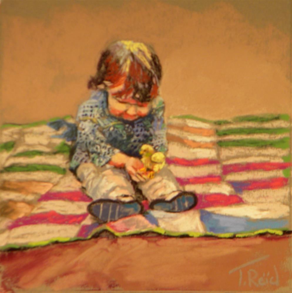 """Discovery"" original fine art by Toby Reid"