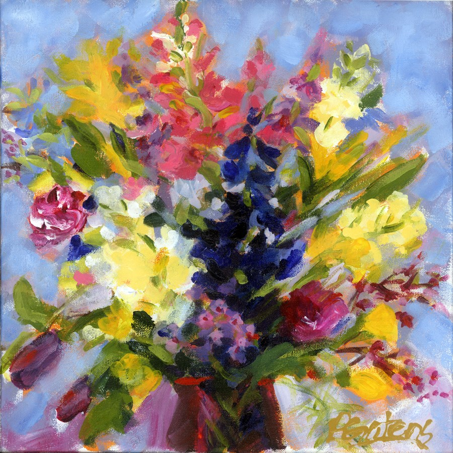 """Workshop Bouquet"" original fine art by Pamela Gatens"