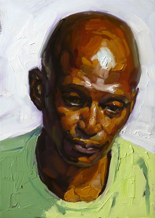 """Thick and Thin"" original fine art by John Larriva"