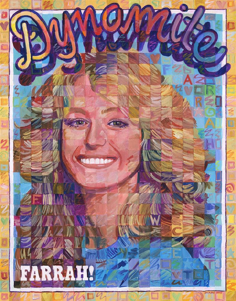 """Farrah! Dynamite"" original fine art by Randal Huiskens"