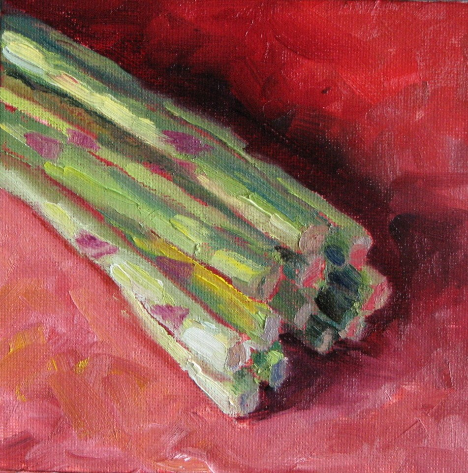 """""""Steamed With Butter"""" original fine art by Pam Holnback"""