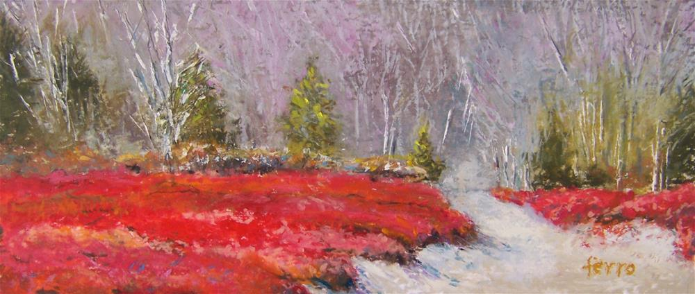 """Enchanted Barren"" original fine art by Susan Ferro"