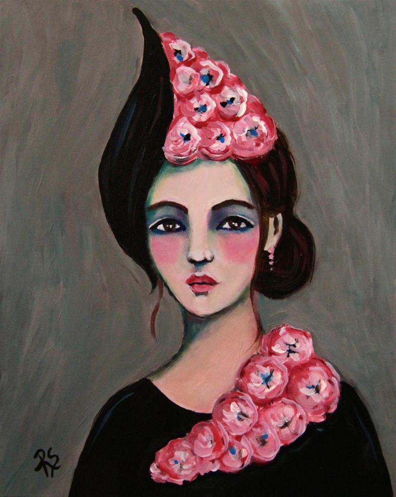 """""""Angelica"""" original fine art by Roberta Schmidt"""