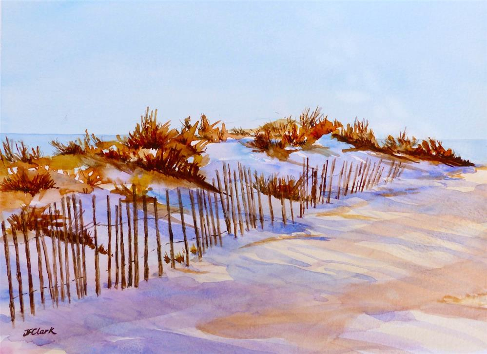 """Afternoon Dunes"" original fine art by Judith Freeman Clark"