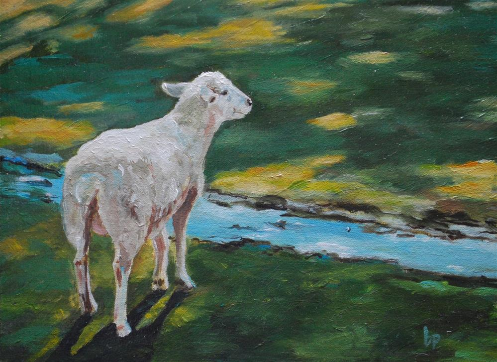 """Anticipation"" original fine art by Beverley Phillips"