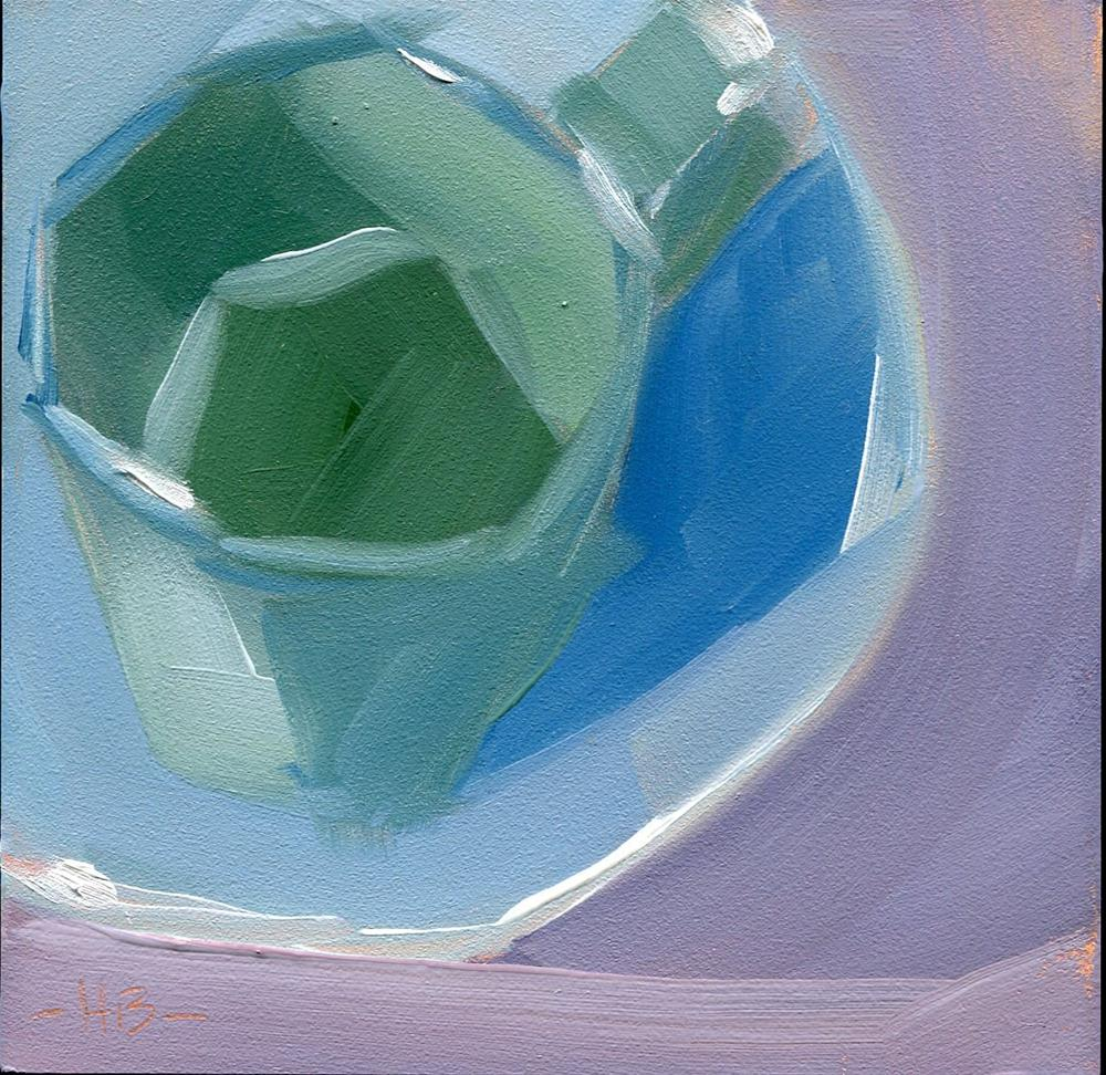 """""""The Cup & Saucer"""" original fine art by Heather Bennett"""