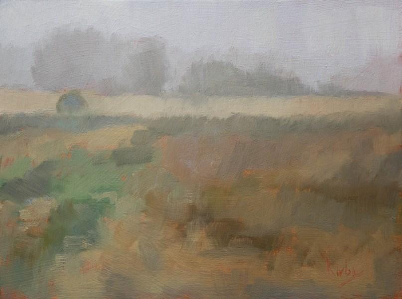 """Hedgerow"" original fine art by Randall Cogburn"