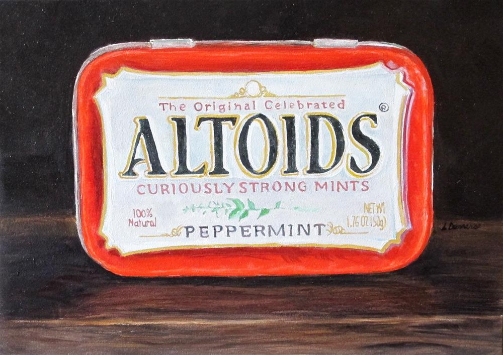 """Altoids"" original fine art by Linda Demers"