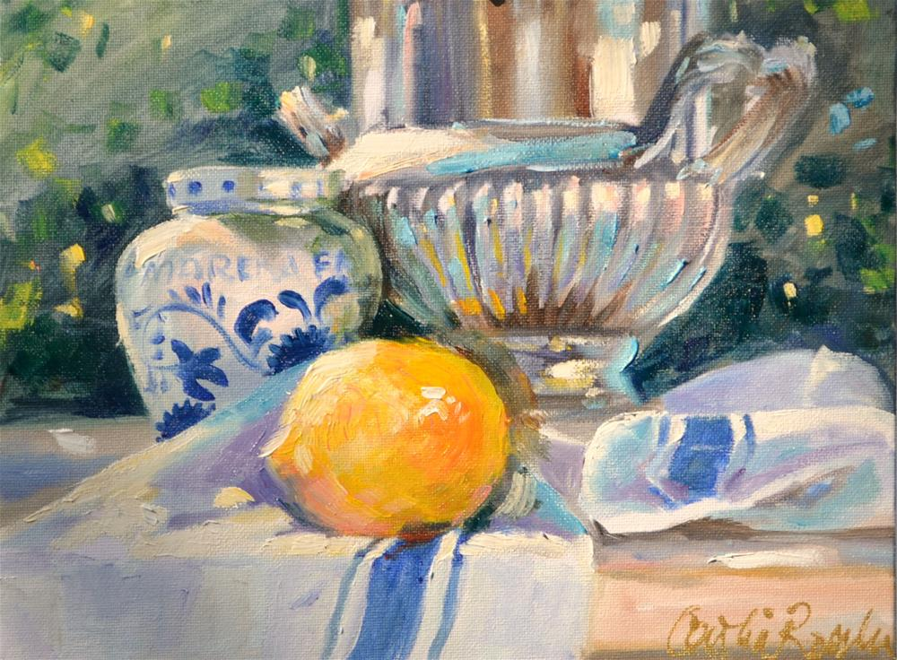 """FRENCH STILL LIFE"" original fine art by Cecilia Rosslee"