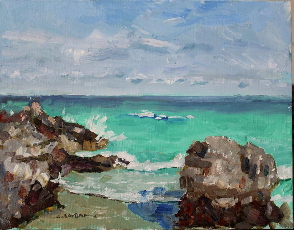 """Bermuda Cove"" original fine art by James Gorman"