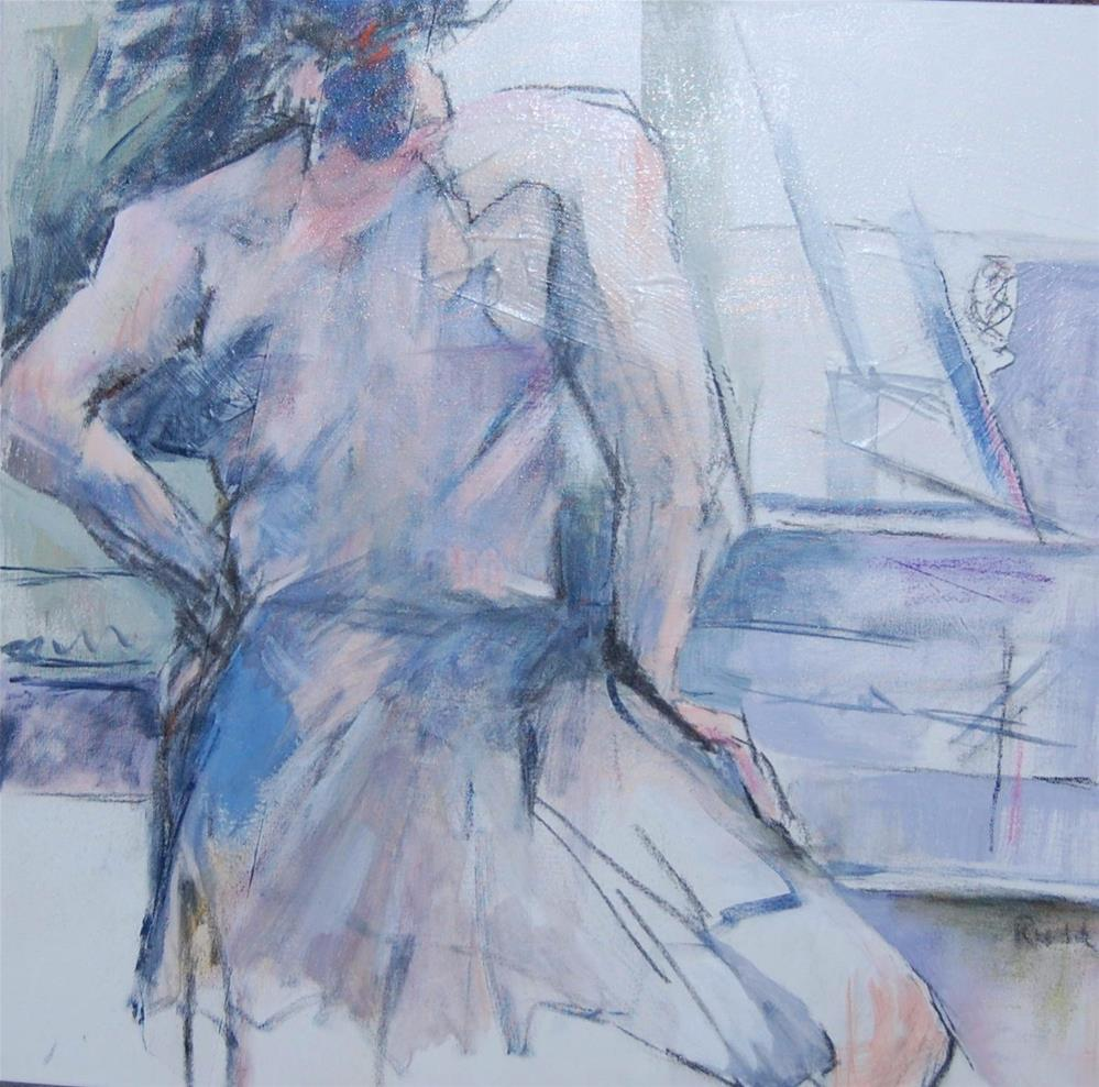 """Ballerina #7"" original fine art by Ann Rudd"