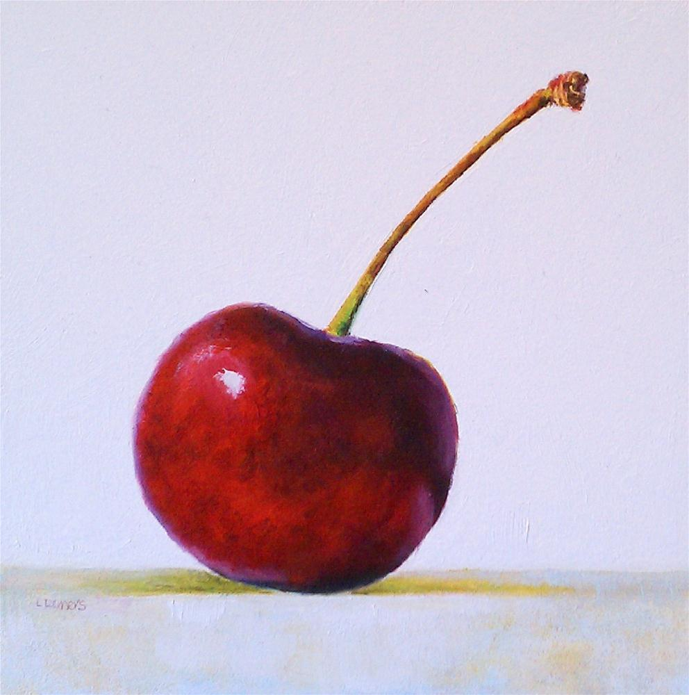 """Cherry"" original fine art by Linda Demers"
