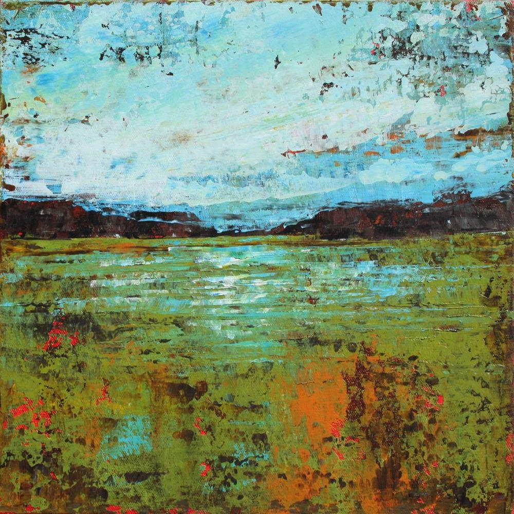 """The Flooded Field"" original fine art by Sage Mountain"